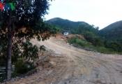 Dự án biệt thự chưa đánh giá tác động môi trường đã chặt rừng bạt núi