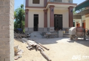 Trưởng thôn tự ý bán đường của dân cho người khác xây nhà: Huyện chỉ đạo làm rõ