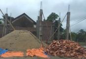 Nghệ An: Hàng loạt nhà dân xây trái phép trên đất quốc phòng