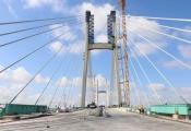 Sắp thông xe cầu hơn 3.000 tỷ bắc qua sông Tiền