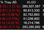 Bán tháo trên thị trường, VN-Index giảm gần 17 điểm