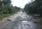 Dự án nâng cấp Quốc lộ 8A sau 4 năm chỉ làm được…5 km
