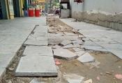 Hàng trăm tỷ lát đá vỉa hè Hà Nội: Quận Đống Đa tạm dừng thi công