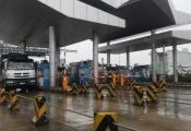 Quảng Nam: Tài xế dừng xe phản đối trạm BOT Tam Kỳ đặt sai vị trí