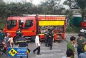 Cháy ở chung cư Hưng Ngân Garden
