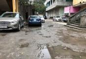 Phường Bạch Đằng: Bãi xe không phép khủng mọc trên đất dự án