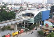 Hụt hơi tiến độ đường sắt đô thị Cát Linh - Hà Đông