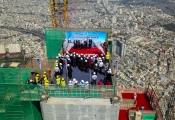 Chính thức cất nóc tòa nhà cao nhất Việt Nam