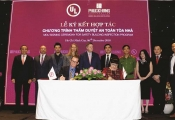 Phuc Khang Corporation ký kết Chương trình Kiểm tra Tòa nhà cùng Underwrites Laboratorie