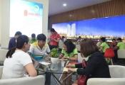 Dự án Saigon Intela: Nhiều khách hàng đòi lại tiền mua nhà (khach di qc thuong, chi dang bai pv lam)