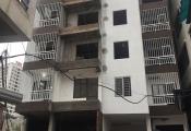"""Hà Nội: Công trình """"khủng"""" xây dựng sai phép nằm gần trụ sở UBND phường Xuân Đỉnh"""