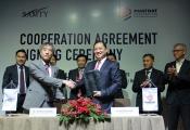 Phát Đạt ký kết hợp tác với Samty Corporation