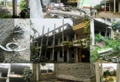 Thanh Hóa: Nhà trường khốn khổ vì công trình xây dựng dở dang suốt nhiều năm