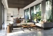 Mang phong cách nhiệt đới vào từng căn biệt thự Goldsand Hill Villa
