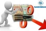 Giảm trích lập dự phòng, lãi trước thuế 6 tháng đầu năm Saigonbank vẫn lao dốc