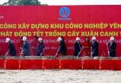 Khởi công xây dựng hạ tầng KCN Yên Phong IIC