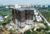 Cất nóc dự án Saigon Intela