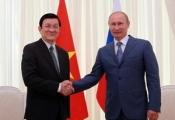 Việt-Nga thúc đẩy quan hệ đối tác chiến lược toàn diện