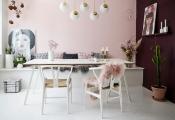 Nhà đẹp bất ngờ với màu hồng phấn