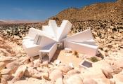 Độc đáo với ngôi nhà hình bông hoa tuyết giữa sa mạc