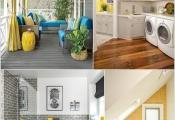 Mang màu vàng hạnh phúc vào không gian ngôi nhà