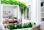 Trang trí nhà thêm độc đáo với băng ghế dài
