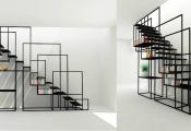 Mẫu thiết kế cầu thang thông thoáng, hoàn hảo cho nhà hiện đại