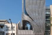 Ngắm tòa nhà thép carbon đục lỗ lạ mắt