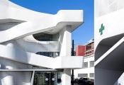 Hiệu thuốc với kiến trúc từ tương lai