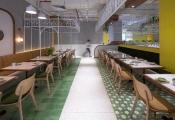 Sắc màu thiên nhiên trong nhà hàng đậm chất Việt