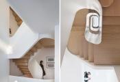 Độc đáo ngôi nhà với nội thất gỗ điêu khắc