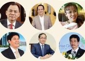 Infographic: Bất động sản áp đảo top 10 doanh nhân giàu nhất Việt Nam 2017