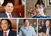10 người giàu nhất trên sàn chứng khoán Việt Nam năm 2018