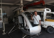 'Ông gàn' Bình Dương: 5 năm trời chế siêu phẩm trực thăng
