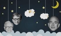 Tỷ phú Bill Gates, Jeff Bezos, Warren Buffet và Tổng thống Donald Trump ngủ thế nào?