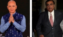 Jeff Bezos và Mukesh Ambani đua bán thuốc trực tuyến