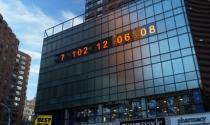 Đồng hồ đếm ngược thời gian còn lại của Trái Đất