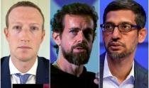 Sếp lớn của Facebook, Google và Twitter lại kéo nhau ra toà vào cuối tháng 10