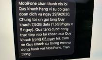 Nhiều thuê bao MobiFone chưa nhận được đền bù sau sự cố