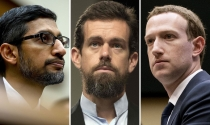 CEO Facebook, Google và Twitter điều trần tối nay