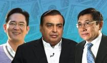 10 gia tộc giàu nhất châu Á nắm giữ tổng tài sản hơn 300 tỷ USD