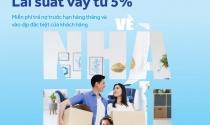 """Chương trình ưu đãi """"Về nhà mới"""" với lãi suất từ 5%"""
