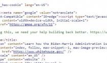 Ông Biden tuyển coder bằng một đoạn mã ẩn