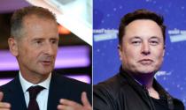 CEO Volkswagen 'cà khịa' Elon Musk