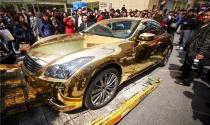 Mốt dát vàng của nhà giàu Trung Quốc