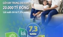 BIDV tung gói vay mua nhà với lãi suất từ 7,3%/năm
