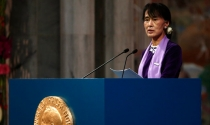 Bà Aung San Suu Kyi nhận giải Nobel Hòa bình