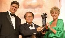 Hình ảnh Bầu Đức đi thi 'bản lĩnh doanh nhân' thế giới ở Monaco