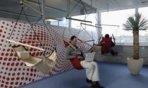 Góc làm việc của nhân viên Google ở Zurich - Thụy Sỹ