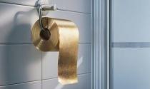 Cuộn giấy vệ sinh dát vàng 22 carat giá 1,6 triệu USD